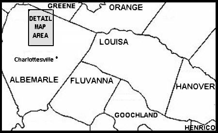maps of virginia counties. Map of Virginia Counties